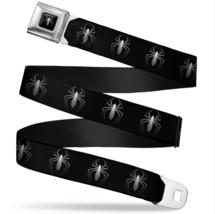 Spider-Man New Logo Black/White Seatbelt Belt - $24.97+