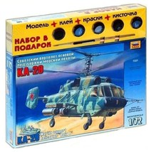 1/72 RUSSIAN MARINE SUPPORT HELICOPTER KA-29 HELIX-B Aircraft Model ZVEZ... - $25.20