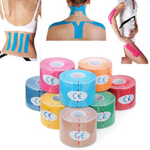 3Pcs Kinesiology Tape Light Blue Sports Muscle Care Therapeutic Relaxing Bandage - $16.73