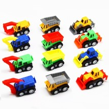 AOSILEY 12 Pack Pull Back Vehicles, Assorted Construction Vehicles Dump ... - $11.33