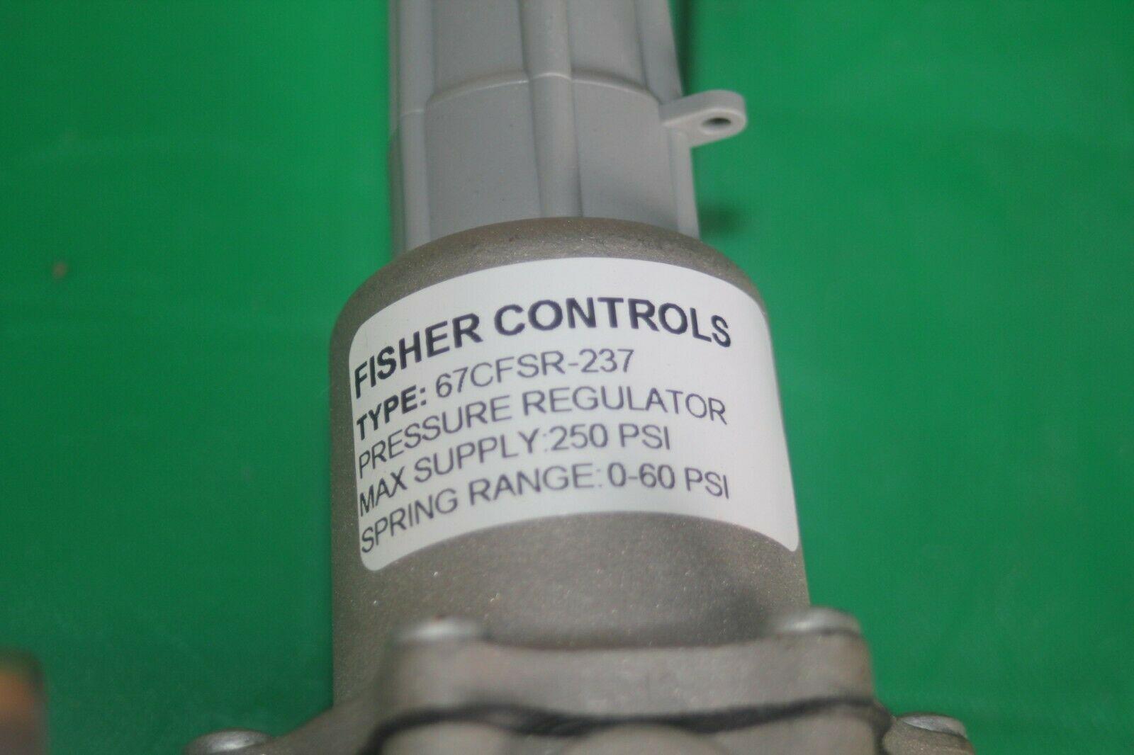 Fisher Controls Regulator 67CFSR-237