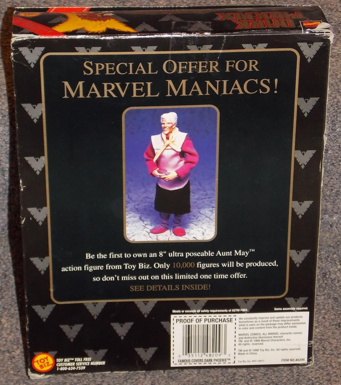 1998 Marvel Comics X-Men Dark Phoenix 8 Inch Action Figure New In The Box