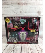 Monster High Secret Creepers Crypt Store and Protect All Your Secrets El... - $19.80
