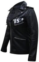 Womens BSA Faith George Michael Rockers Revenge Black Leather Jacket image 3