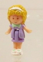 Polly Pocket Vintage Doll 1989 Polly's Bedtime Ring - Polly Bluebird Toys - $7.50