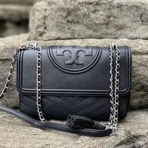 Tory Burch Fleming Distressed Convertible Shoulder Bag - $420.00