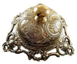 Solid Brass Counter Bell, Officer call bell Desk Bell Service Bell Schoo... - $45.53