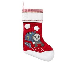 PBK Thomas & Friends Quilted Stocking Children Christmas Train Large - $19.75