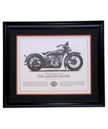 1928 Harley Davidson JDH Model Framed 16x20 High Quality Print - $138.59