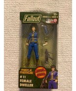 Fallout FEMALE DWELLER # 11 SERIES 2 MEGA MERGE VAULT-TEC 76 GAMESTOP NE... - $17.81
