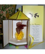 RARE Nina Ricci L'Air du Temps Perfume~Purple Doves Lalique Bottle~Seale... - $499.99