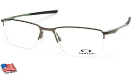 New Oakley Socket 5.5 OX3218-0254 Satin Pewter Eyeglasses Frame 54-18-136mm - $122.49