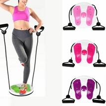 Waist Twisting Disc Twist Board Foot Massage Plate Home Gym Exercise Equ... - £30.49 GBP
