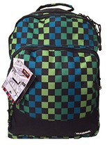 Yak Pak Empire Back Pack Turq/Green Check (KZ253-6482) - $20.00