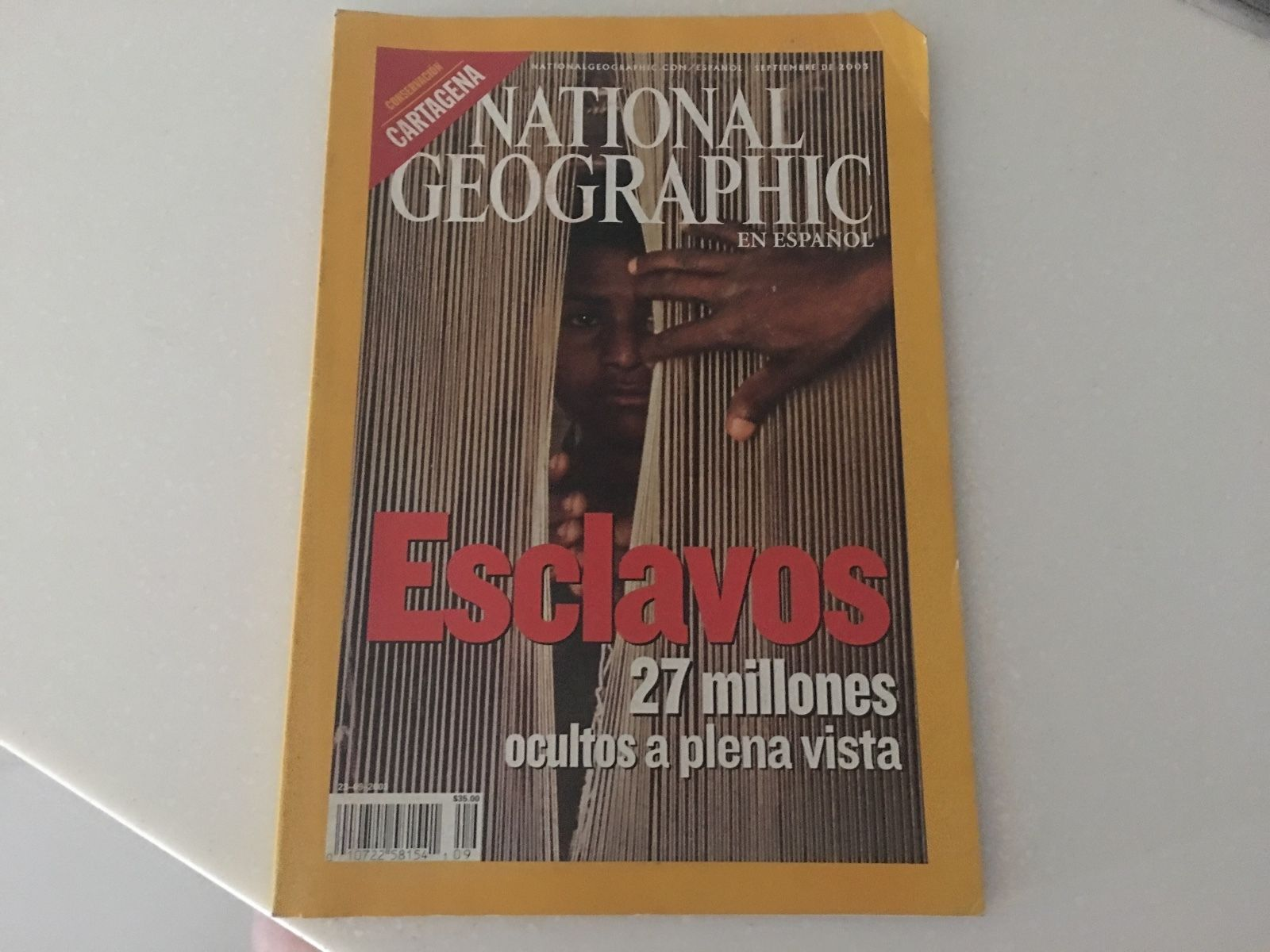 National Geographic Magazine en Español (in Spanish) September 2003
