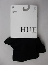 Hue Women's Diamond Tights with Control Top Black Size 3 - $8.86