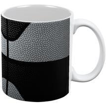 Championship Basketball Silver and Black All Over Coffee Mug - $16.95