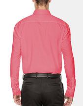 Men's Fashion Fit Long Sleeve Button Down Pocket Pattern Dress Shirt image 14