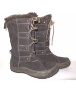 The North Face Abby IV Waterproof Suede Leather Boots sz 6 Women's Brown... - $39.00