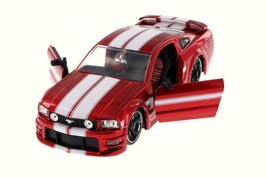 2006 Ford Mustang GT, Red - Jada 90658YV - 1/24 Scale Diecast Model Toy Car - $65.77