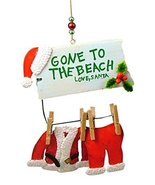 Cape Shore Santa Gone to The Beach Christmas Ornament (Regular) - $12.82
