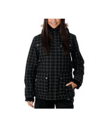 Empyre Leila Jacket Womens Snowboard Ski 10k Waterproof Insulated Black M - $111.50