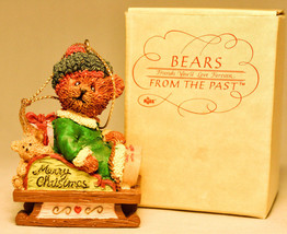 Bears From The Past - Bear on Sled - 13782 - Holiday Ornament image 2
