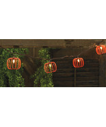 Halloween Party Orange Wired Pumpkins 9.5ft Light Strand, 10 ct. - $46.52
