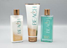 At the Beach Bath & Body Works Lot of 3 Shower Gel, Body Cream, Body Lot... - $25.99
