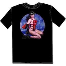 Bettie Page as Pony Girl with Art By Olivia T-Shirt MD - $21.28