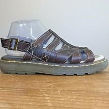 Dr Martens Ladies Size 9 M Fisherman Sandals Brown Leather Shoes  - $49.49