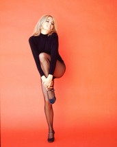 Joey Heatherton Sexy Leggy Color Print 16x20 Canvas Giclee - $69.99