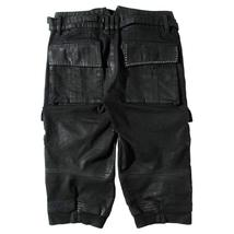 Mens Noctis Lucis Caelum Final Fantasy XV Costume Black Leather Pants image 2