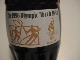 "Original Vintage 1996 COCA COLA Olympic Torch Relay Atlanta Bottle 7.5"" - $11.57"