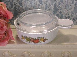 Vintage Pyroceram Corning Ware Spice of Life Grab It Bowl with Glass Lid - $39.99