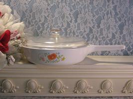 Vintage Corning Ware Pyroceram Wildflower Menuette Sauce Pan or Casserole  - $24.99