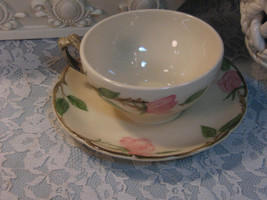 Vintage Franciscan Pottery Desert Rose Cup and Saucer, Made in USA, Cali... - $14.99