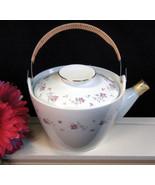 Vintage Mid Century Nittoroyal Japan Pink Rose China Teapot, Teapot Coll... - $24.99