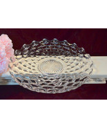 Fostoria Glass American Crystal Large Cake Plate or Shallow Fruit Bowl, ... - $59.99