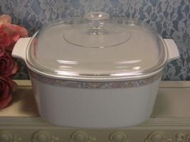 Corning Ware Shangri-La Casserole Dutch Oven, 3 Liter Quart, Vintage Pyr... - $34.99