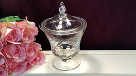 Fostoria Glass Crystal Century Covered Candy Dish, Vintage 1950 to 1982 ... - $34.99