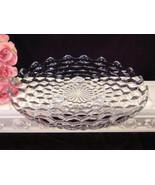 Vintage Fostoria Glass American Crystal Footed Cake Plate Bowl, Elegant ... - $44.99