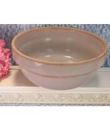Antique Yellowware Yellow Ware, Stone Ware, Pottery Mixing Bowl, 1800s V... - $129.99