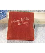 1935 Among The Folk in History by Gaar Williams, Velvet Cover Limited Ed... - $59.99
