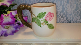 Franciscan Pottery Desert Rose Large Handled Grand Mug, Vintage USA, Cal... - $59.99