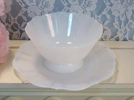 American Sweetheart Monax Sherbet & Dessert Plate, MacBeth Evans Depression - $29.99