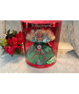 Happy Holiday Christmas Barbie Doll 1995, Vintage Mattel, Mint in Box - $49.99