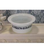 Corelle Pyrex Old Town Round Butter Dish, Vintage Mid Century Kitchen Gl... - $16.99