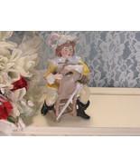 Antique Unger Schneide Porcelain Figurine, Germany Soldier Sword on Chair - $44.99