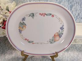 Vintage Corelle Corning Ware Abundance Oval Platter, Meat or Serving Platter  - $24.99